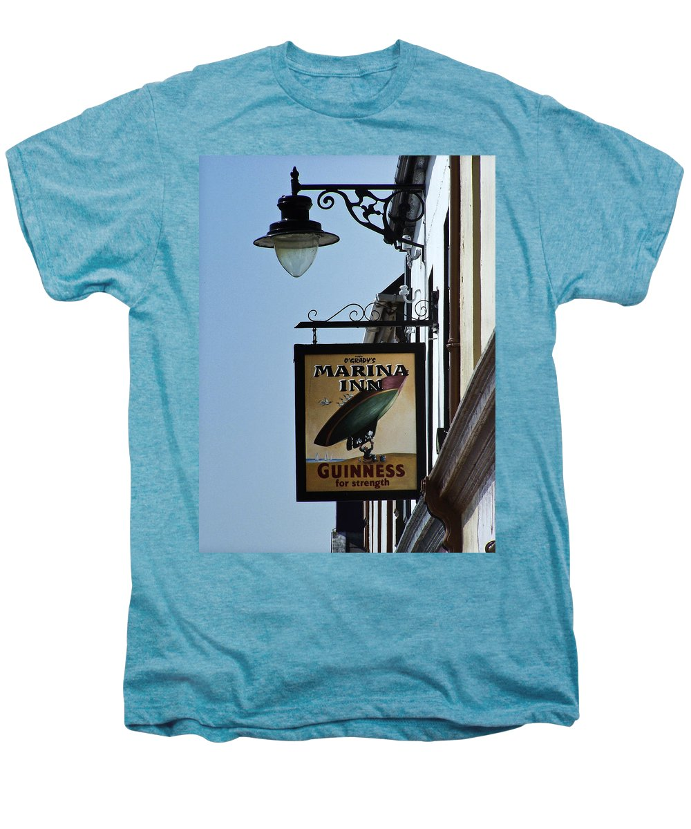 Irish Men's Premium T-Shirt featuring the photograph Guinness For Strength Dingle Ireland by Teresa Mucha