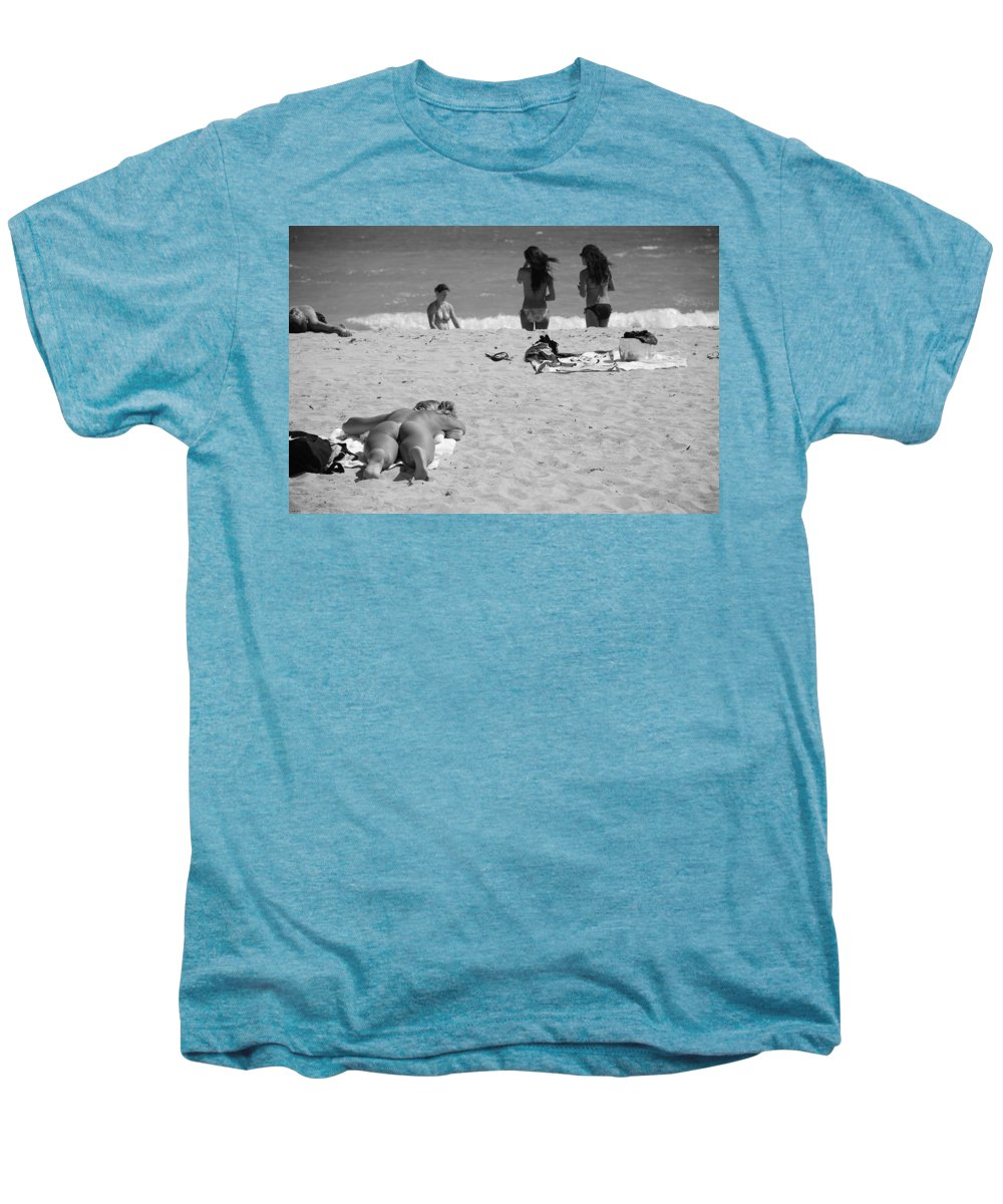 Miami Men's Premium T-Shirt featuring the photograph Half Dead Half Alive by Rob Hans