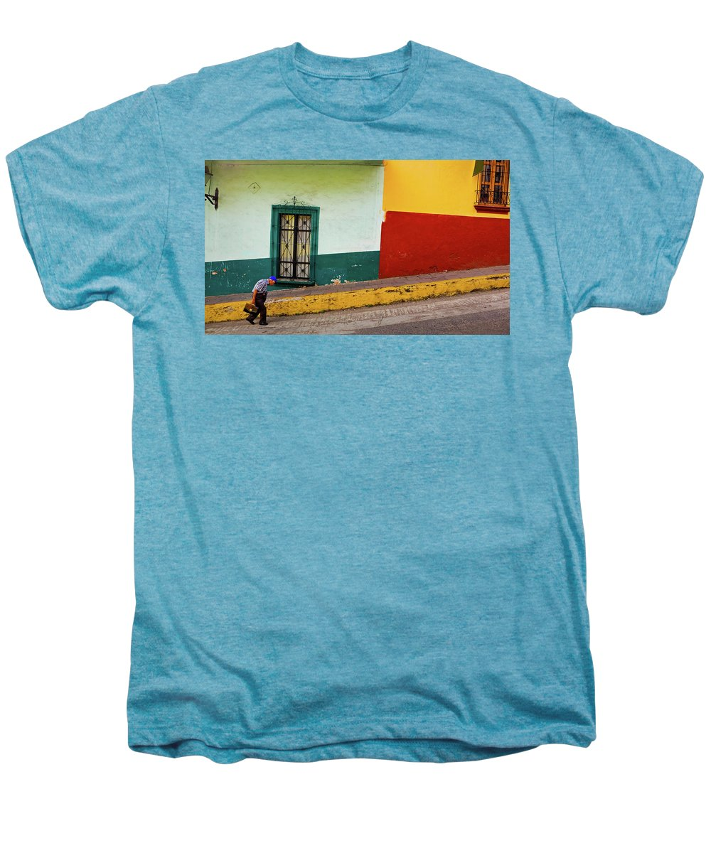 Man Men's Premium T-Shirt featuring the photograph Hard Knock Life by Skip Hunt