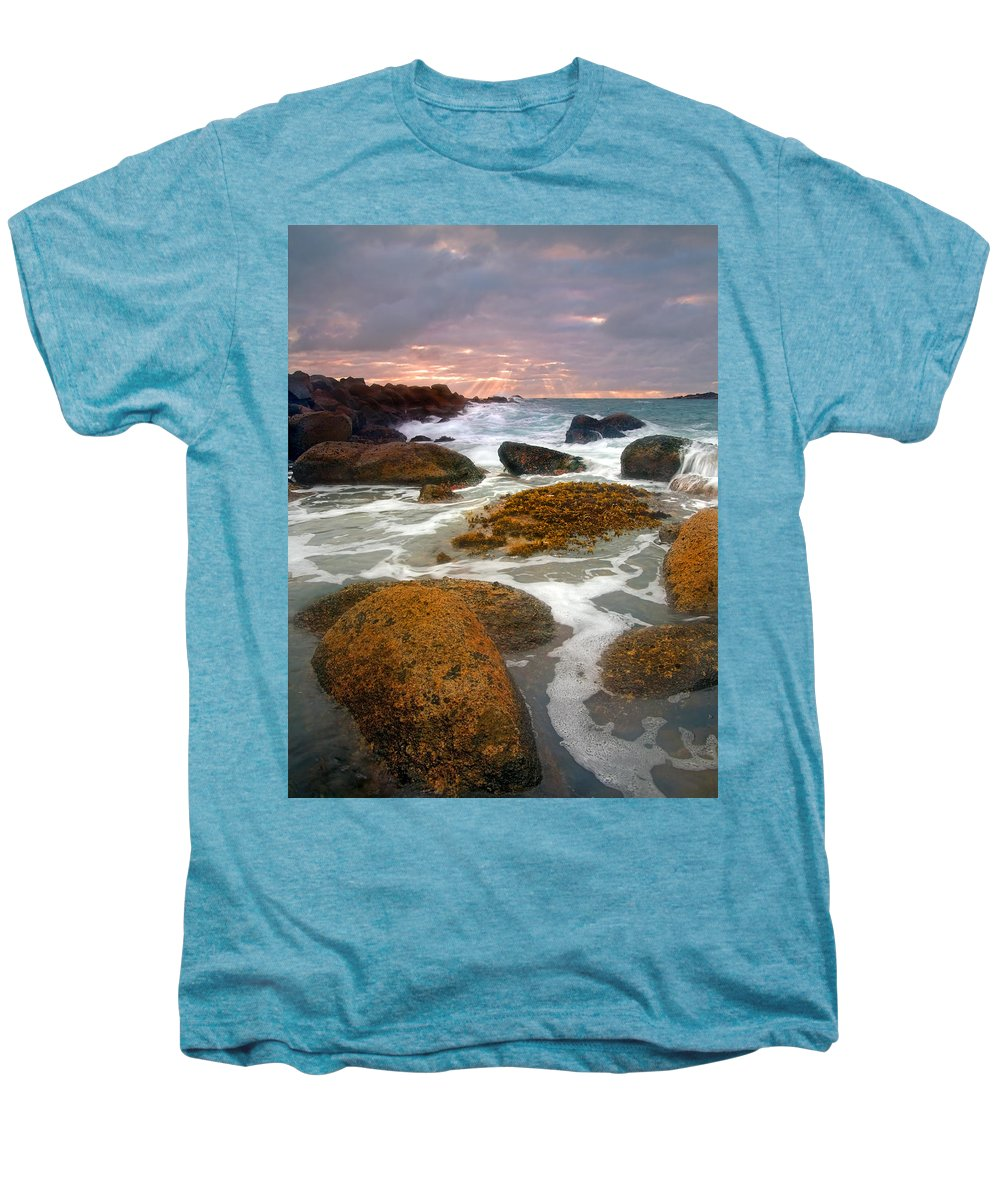 Sunrise Men's Premium T-Shirt featuring the photograph Heavenly Dawning by Mike Dawson