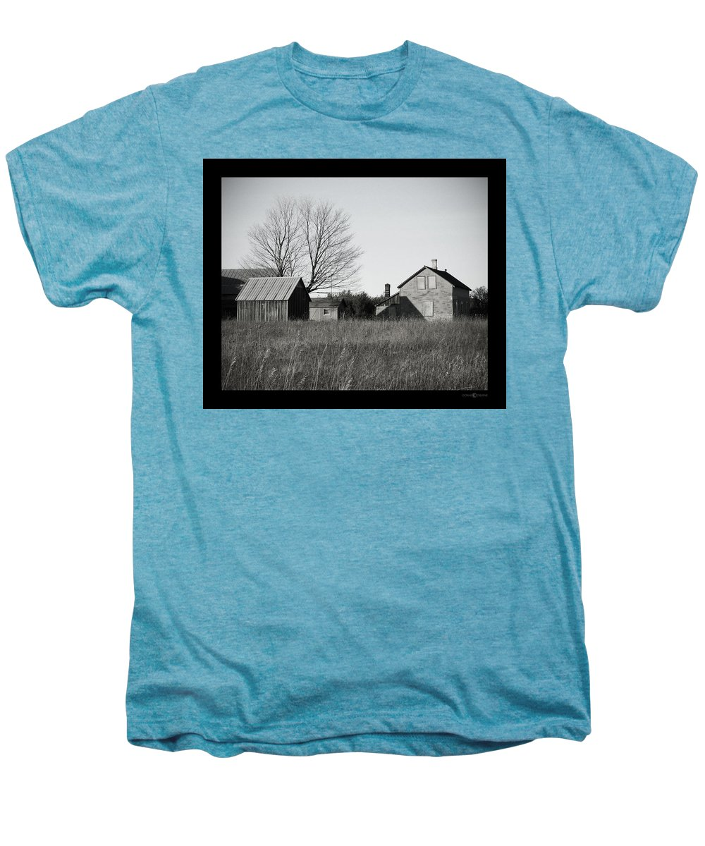 Deserted Men's Premium T-Shirt featuring the photograph Homestead by Tim Nyberg