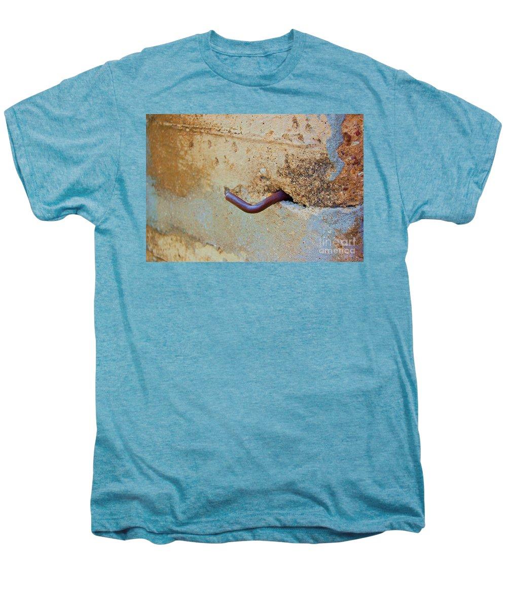 Metal Men's Premium T-Shirt featuring the photograph Hook by Debbi Granruth