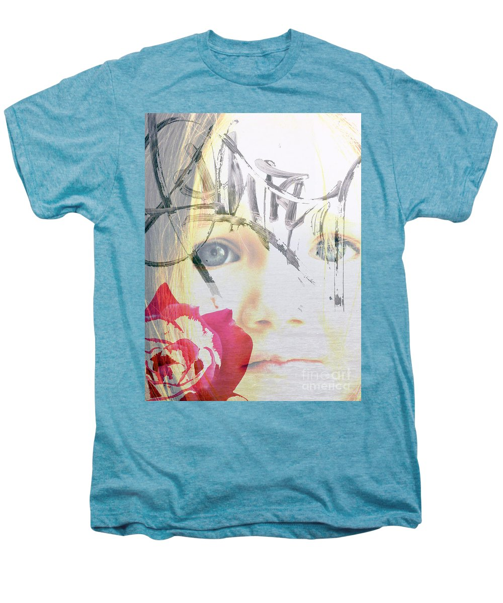 Modern Men's Premium T-Shirt featuring the photograph Hope For The Future by Amanda Barcon