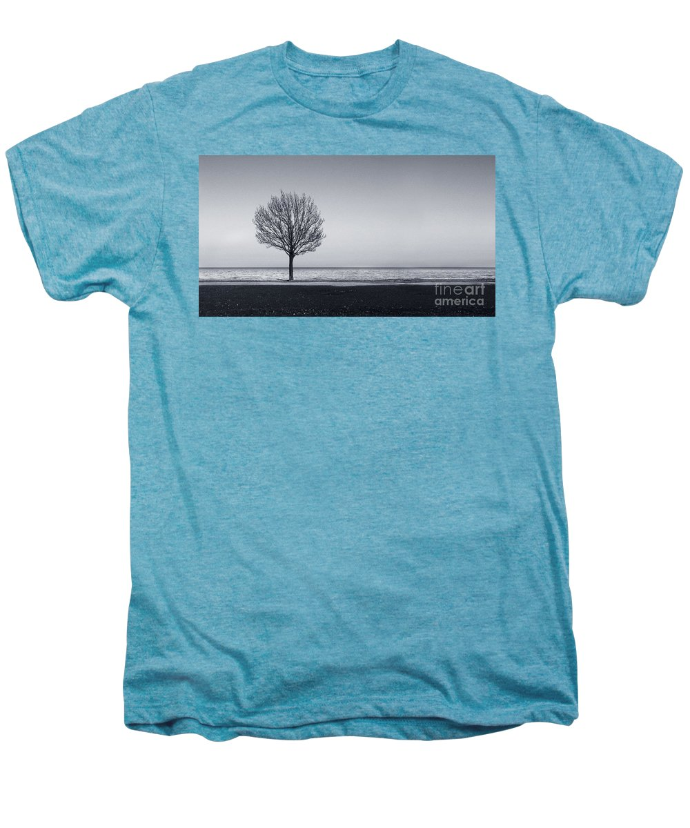 Tree Men's Premium T-Shirt featuring the photograph I Didnt Hear You Leaving by Dana DiPasquale