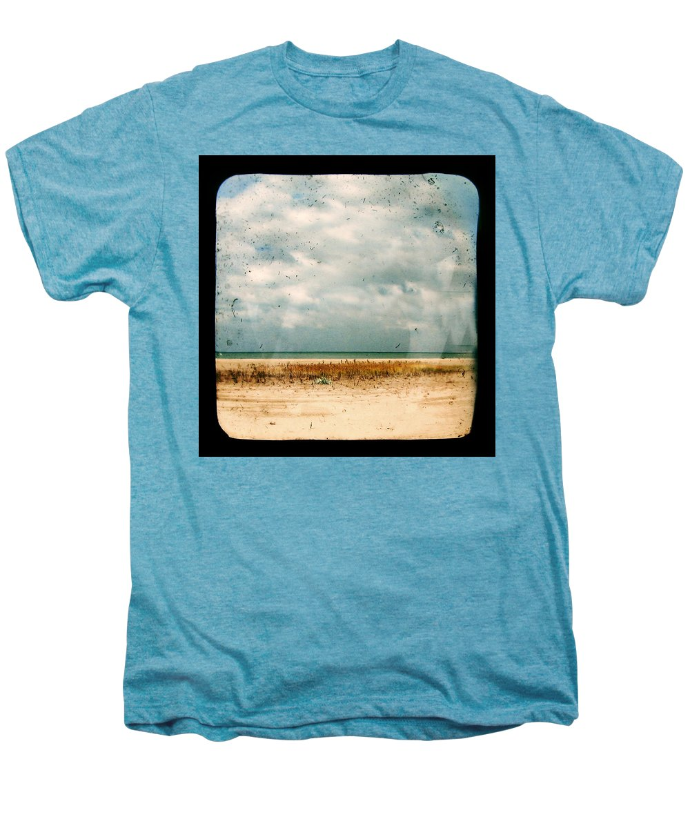 Dipasquale Men's Premium T-Shirt featuring the photograph I Honestly Believed by Dana DiPasquale