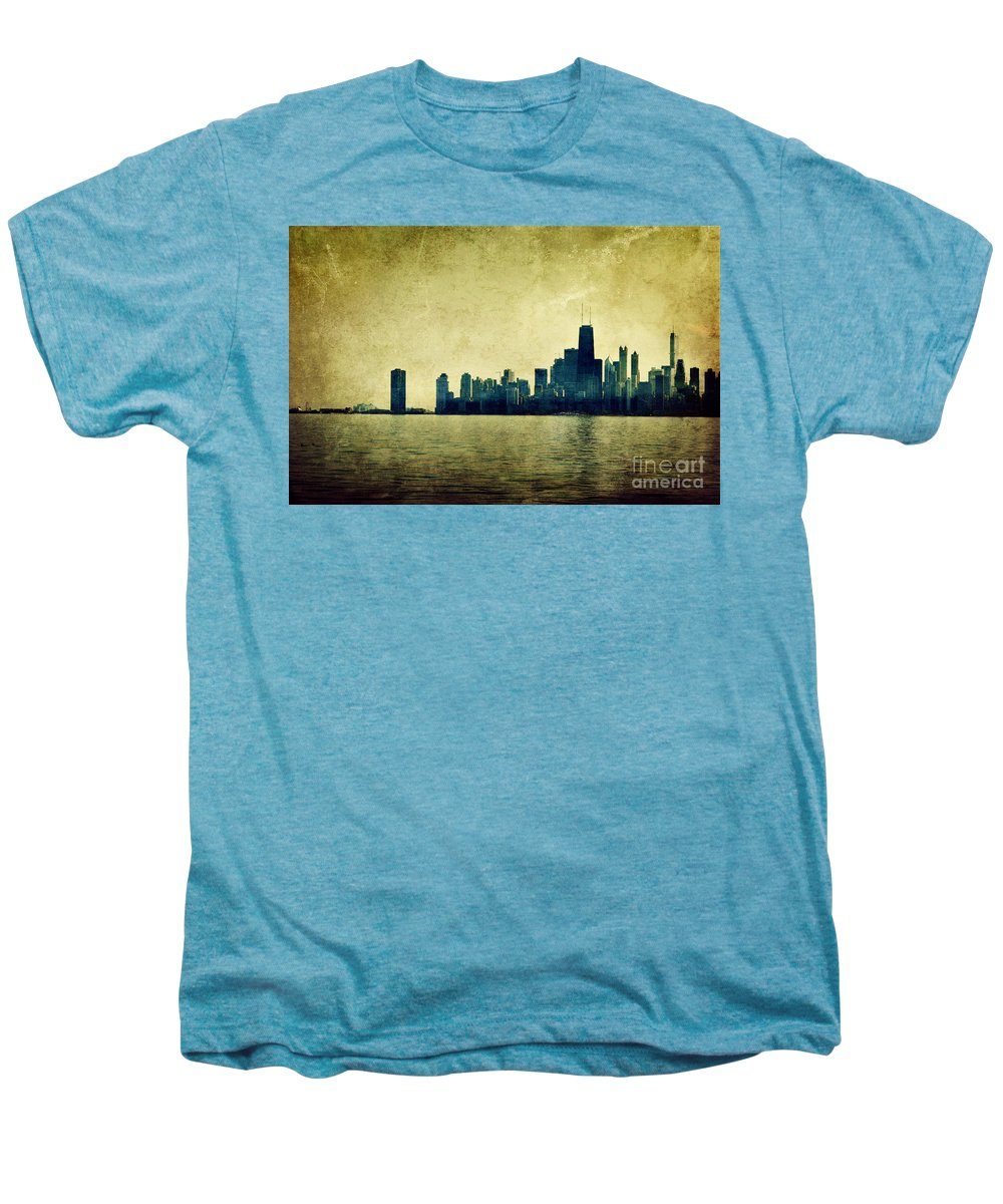 Dipasquale Men's Premium T-Shirt featuring the photograph I Will Find You Down The Road Where We Met That Night by Dana DiPasquale