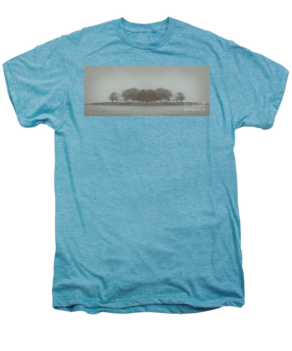 Landscape Men's Premium T-Shirt featuring the photograph I Will Walk You Home by Dana DiPasquale