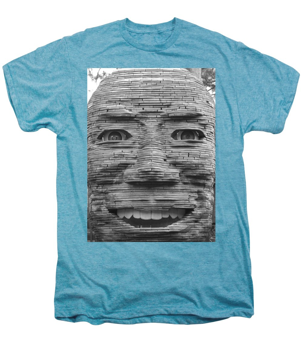 Architecture Men's Premium T-Shirt featuring the photograph In Your Face by Rob Hans