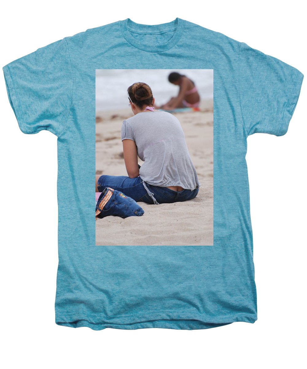 Girl Men's Premium T-Shirt featuring the photograph Indiana Girl by Rob Hans