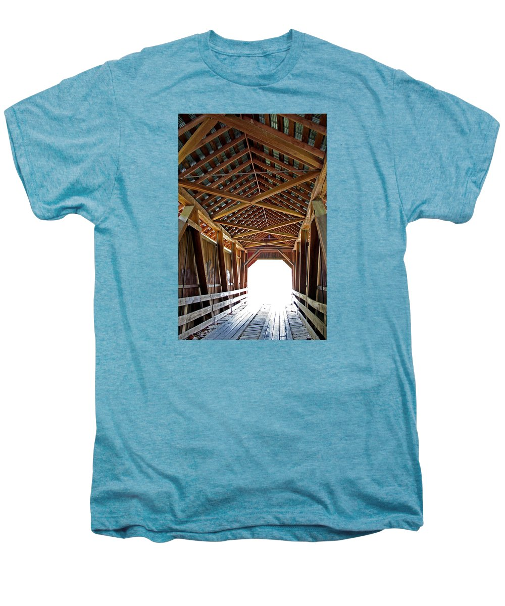 Light Men's Premium T-Shirt featuring the photograph Into The Light by Margie Wildblood