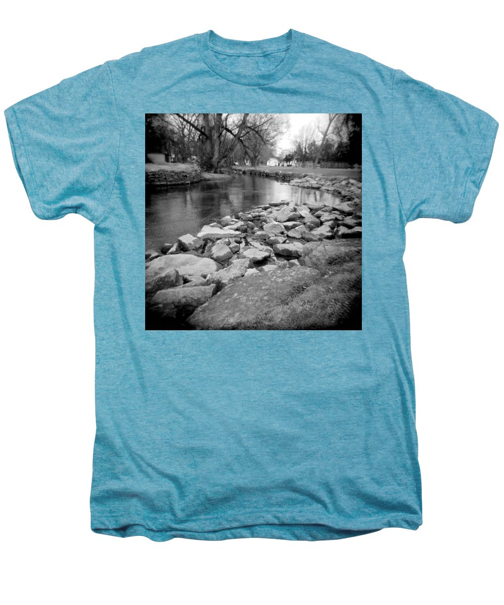 Photograph Men's Premium T-Shirt featuring the photograph Le Tort Spring Run by Jean Macaluso
