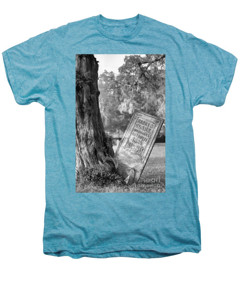 Graves Men's Premium T-Shirt featuring the photograph Life After Death by Richard Rizzo