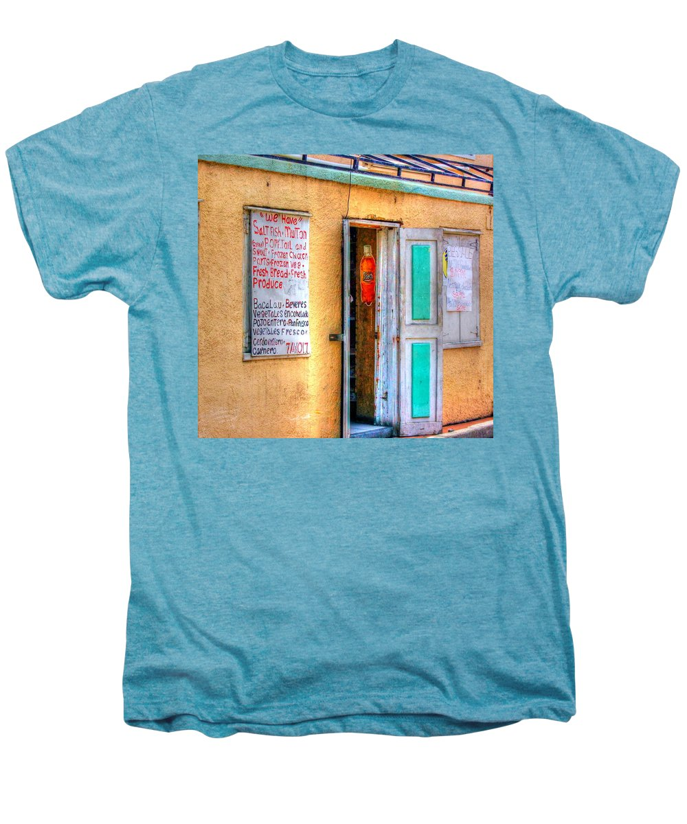 Store Men's Premium T-Shirt featuring the photograph Local Store by Debbi Granruth
