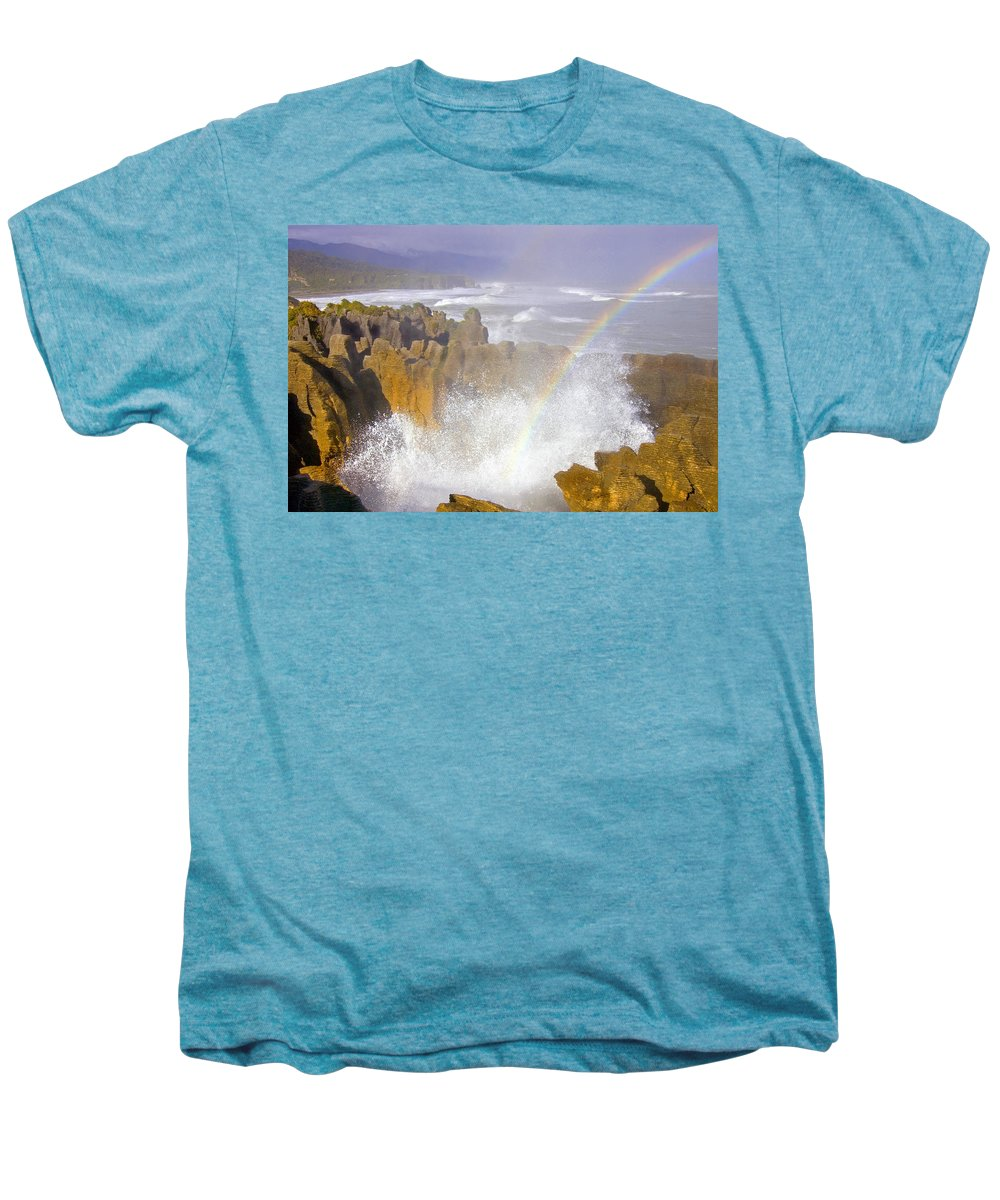 Paparoa Men's Premium T-Shirt featuring the photograph Making Miracles by Mike Dawson