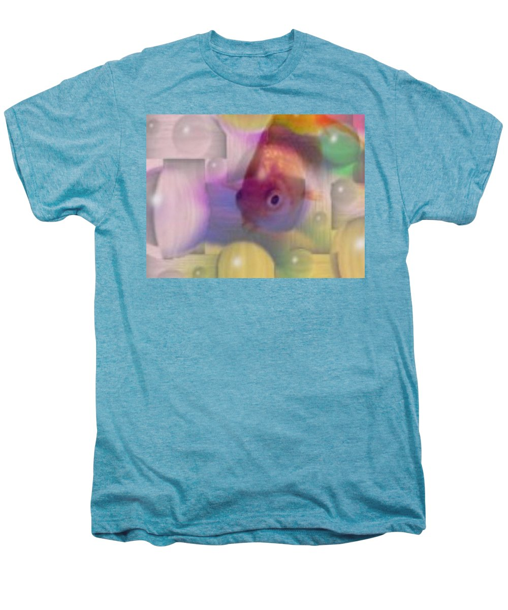 Fish Men's Premium T-Shirt featuring the photograph Marble Fish by Tim Allen