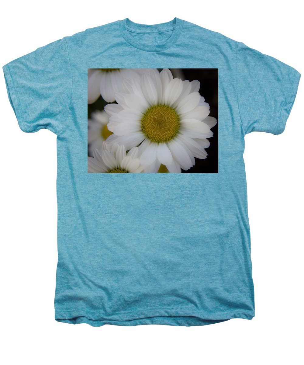 Marguerite Men's Premium T-Shirt featuring the photograph Marguerite Daisies by Teresa Mucha