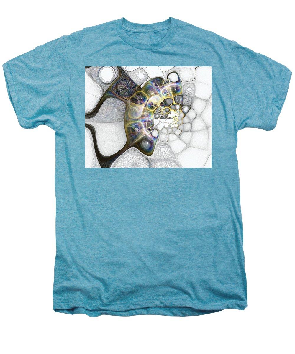 Digital Art Men's Premium T-Shirt featuring the digital art Memories II by Amanda Moore