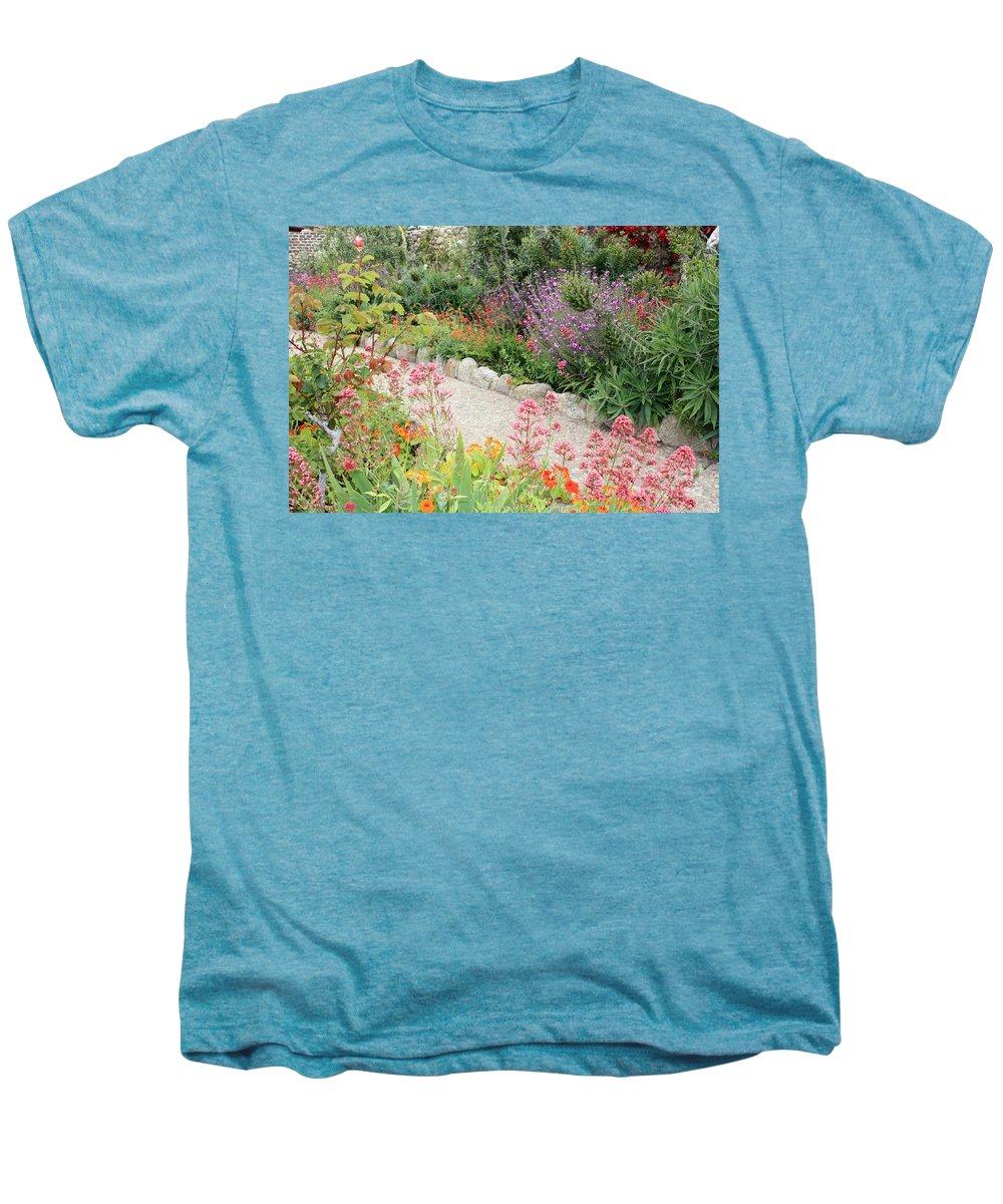Garden Men's Premium T-Shirt featuring the photograph Mission Garden by Carol Groenen