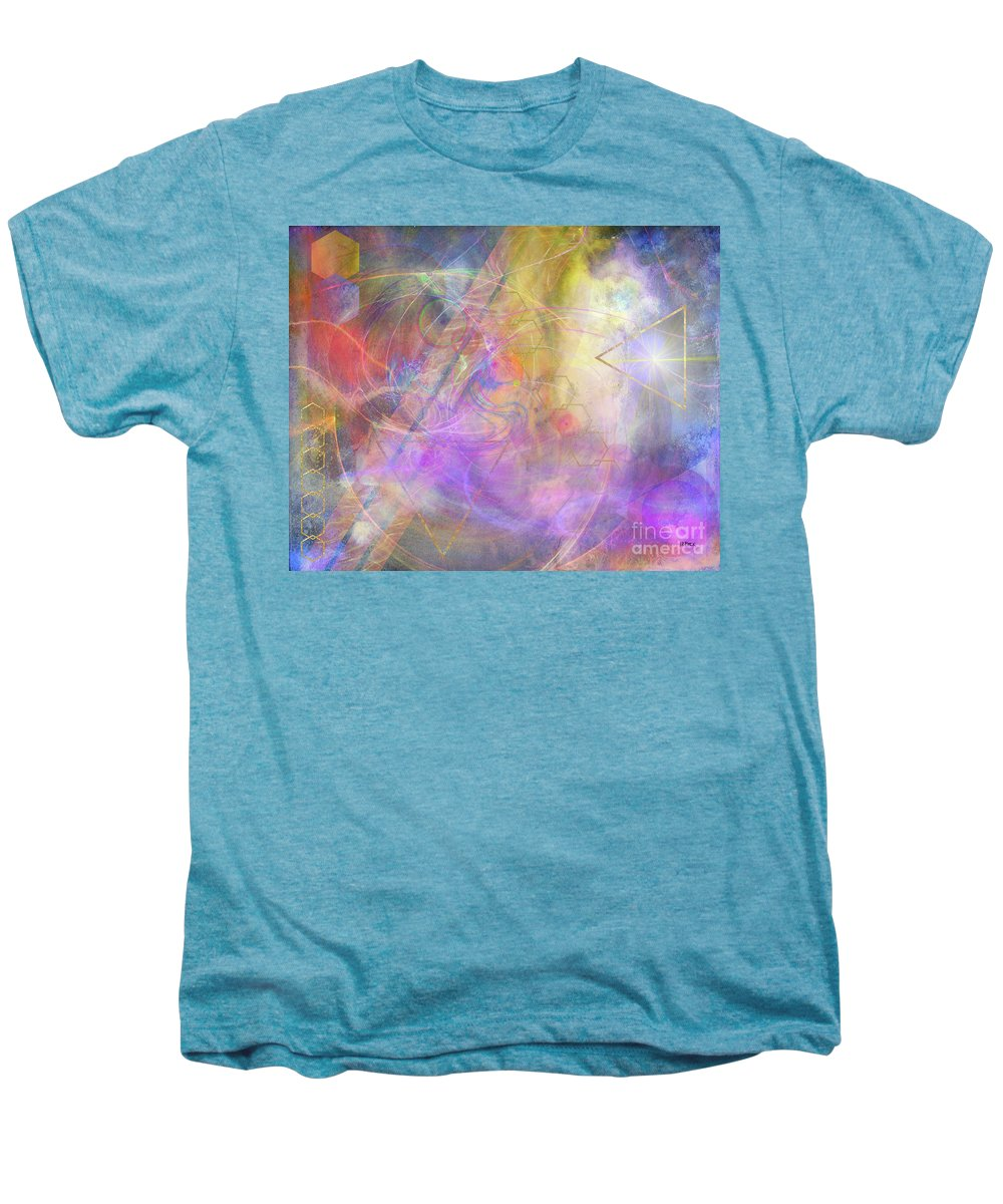 Morning Star Men's Premium T-Shirt featuring the digital art Morning Star by John Beck