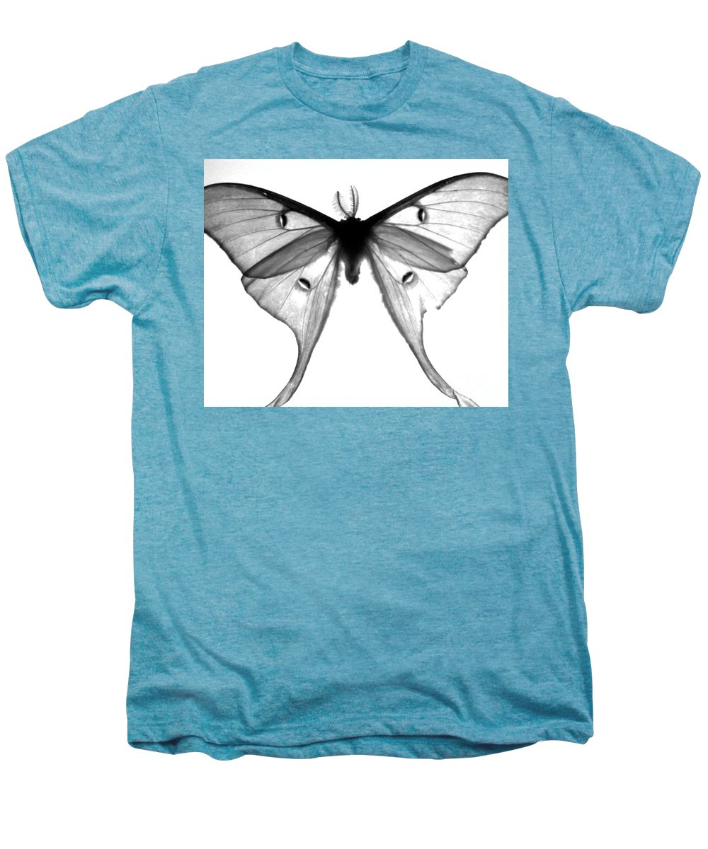 Moth Men's Premium T-Shirt featuring the photograph Moth by Amanda Barcon