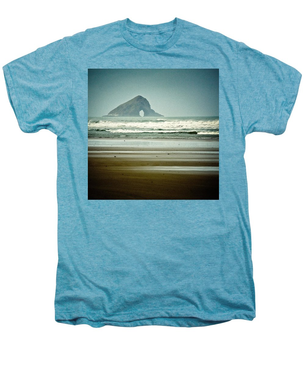 Seascape Men's Premium T-Shirt featuring the photograph Ninety Mile Beach by Dave Bowman