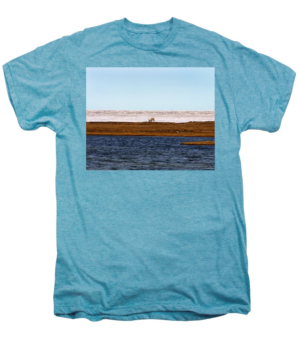 Arctic Men's Premium T-Shirt featuring the photograph North Slope by Anthony Jones