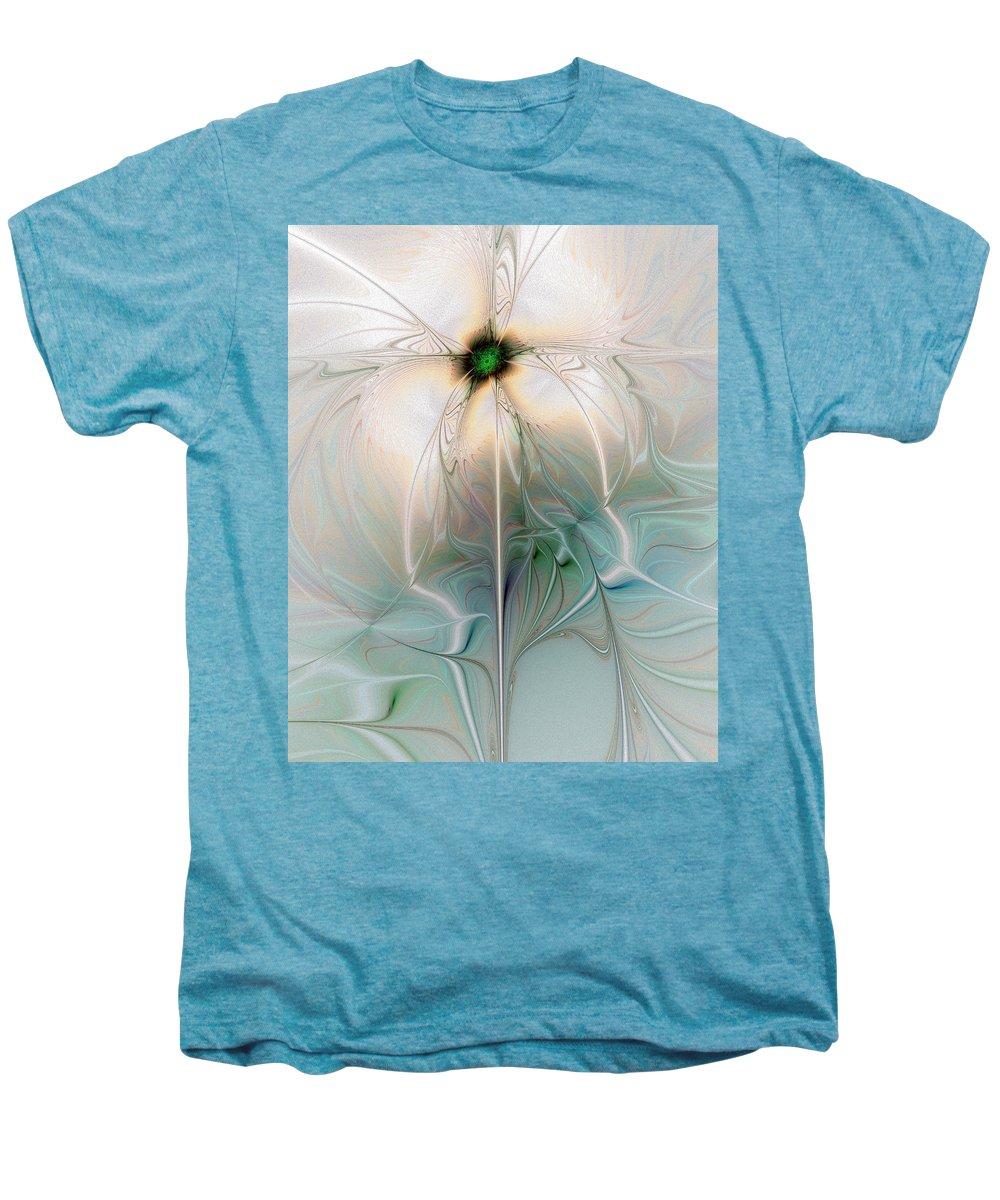 Digital Art Men's Premium T-Shirt featuring the digital art Nostalgia by Amanda Moore
