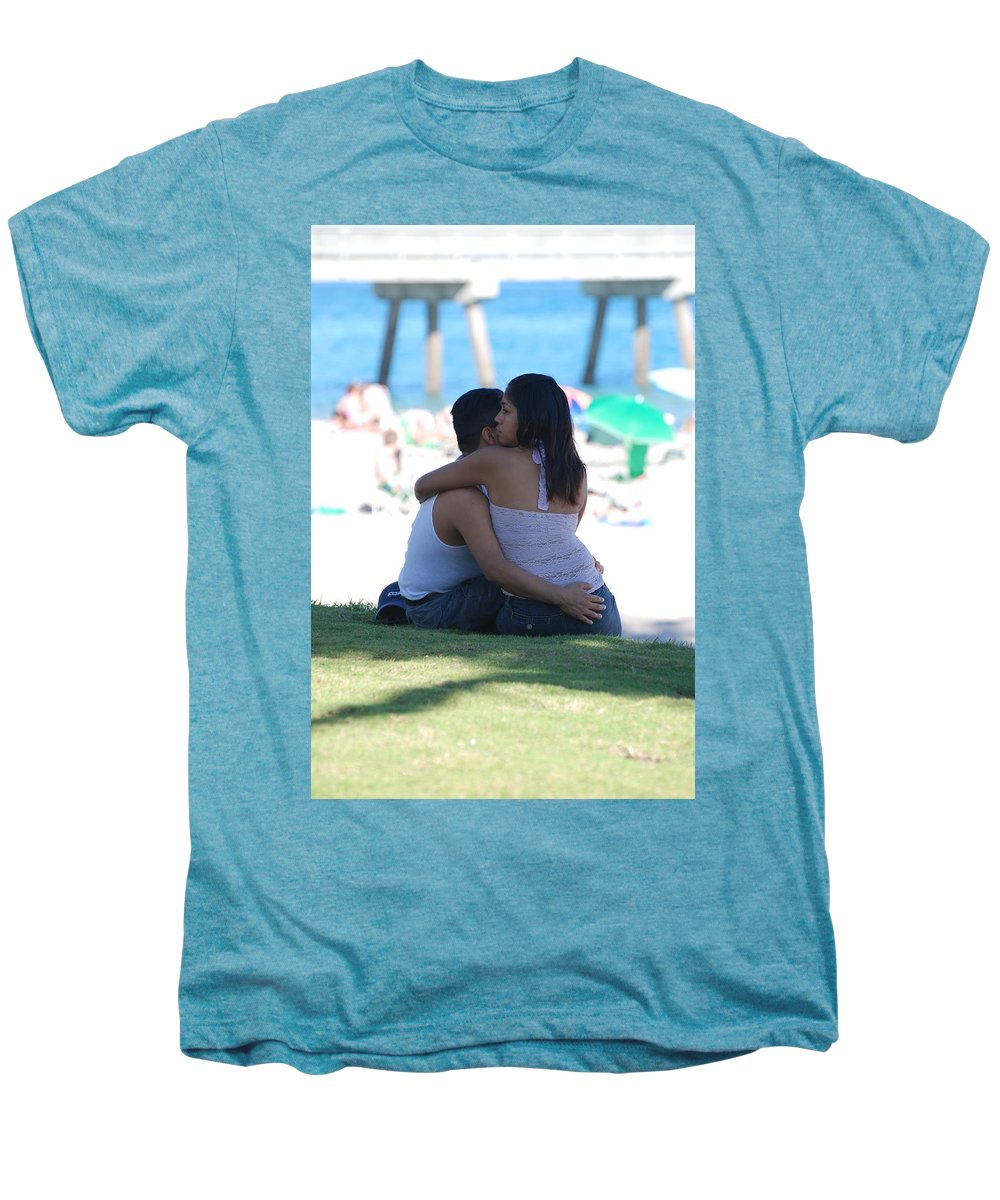 People Men's Premium T-Shirt featuring the photograph Not Married by Rob Hans