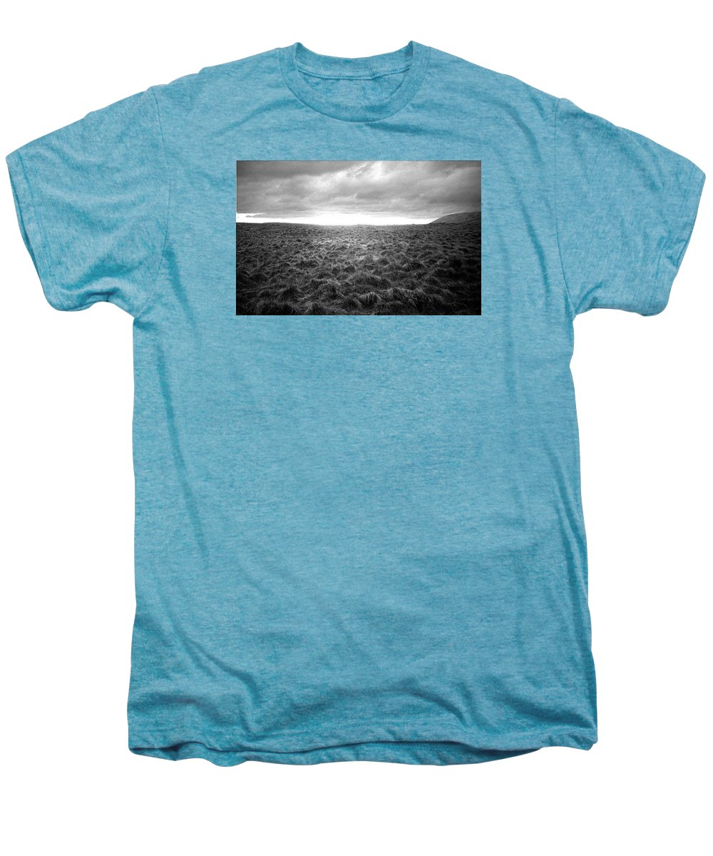 Landscape Men's Premium T-Shirt featuring the photograph Opening by Ted M Tubbs