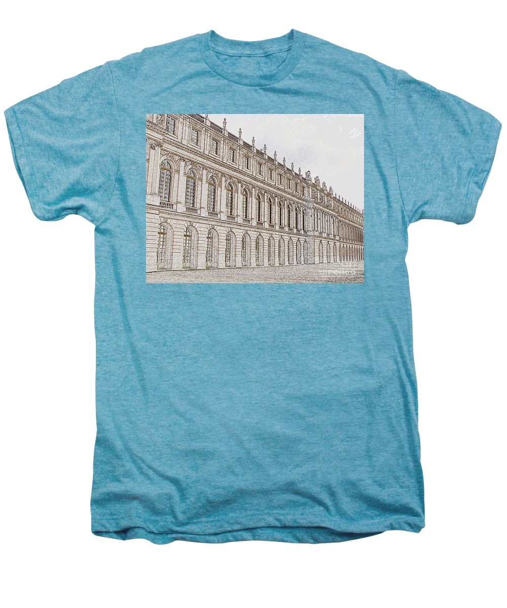 France Men's Premium T-Shirt featuring the photograph Palace Of Versailles by Amanda Barcon