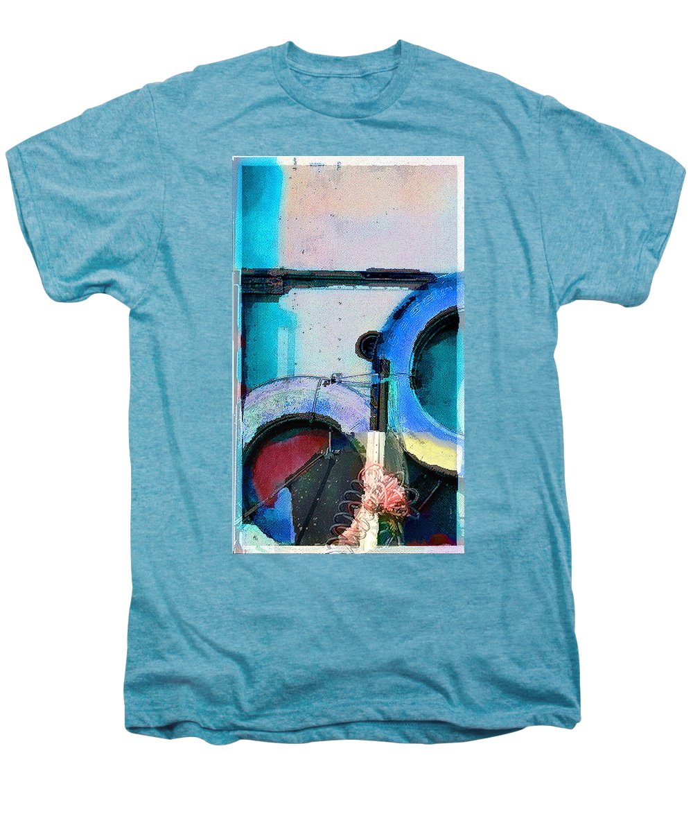 Abstract Men's Premium T-Shirt featuring the photograph panel three from Centrifuge by Steve Karol