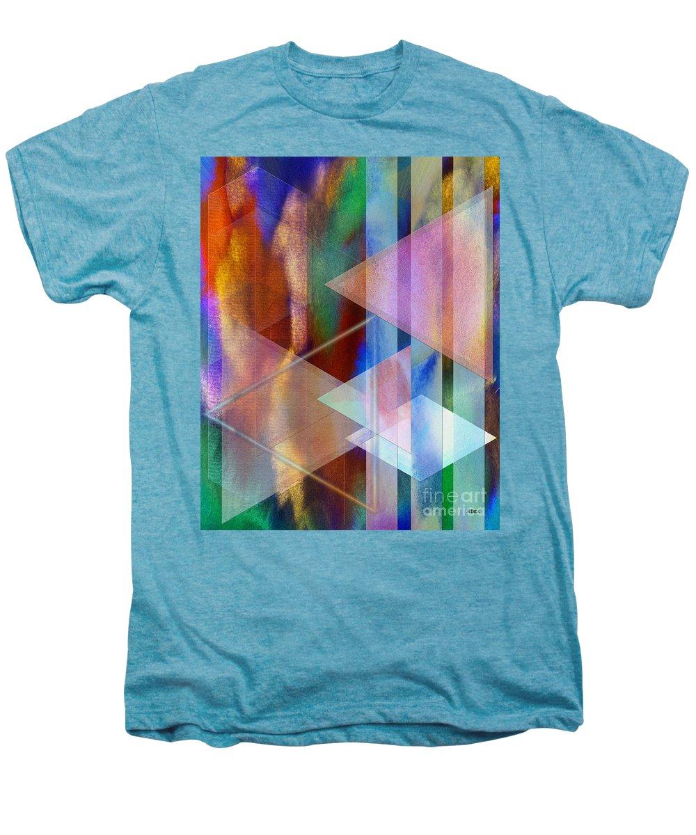 Pastoral Midnight Men's Premium T-Shirt featuring the digital art Pastoral Midnight by John Beck