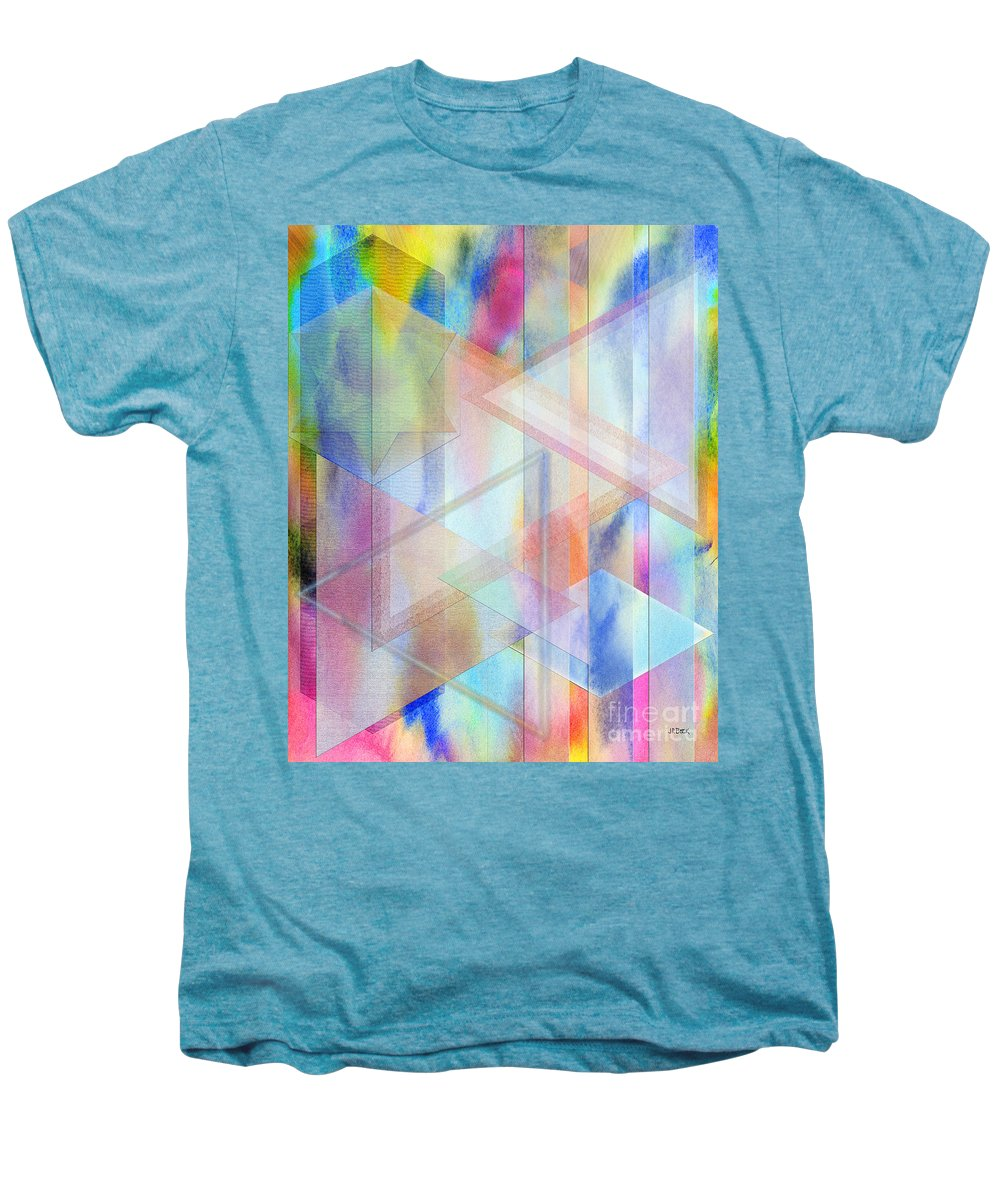 Pastoral Moment Men's Premium T-Shirt featuring the digital art Pastoral Moment by John Beck