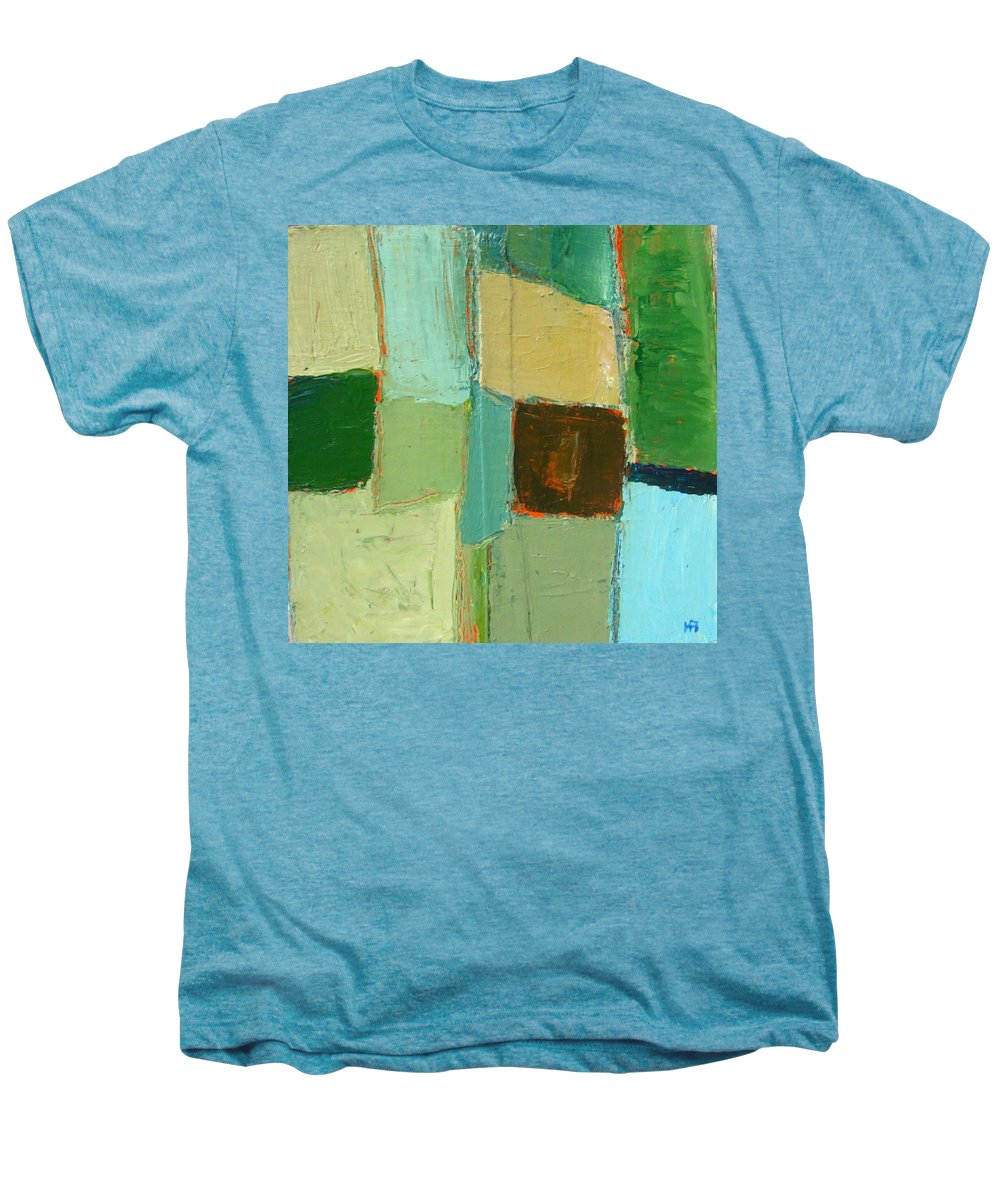 Men's Premium T-Shirt featuring the painting Peace 2 by Habib Ayat