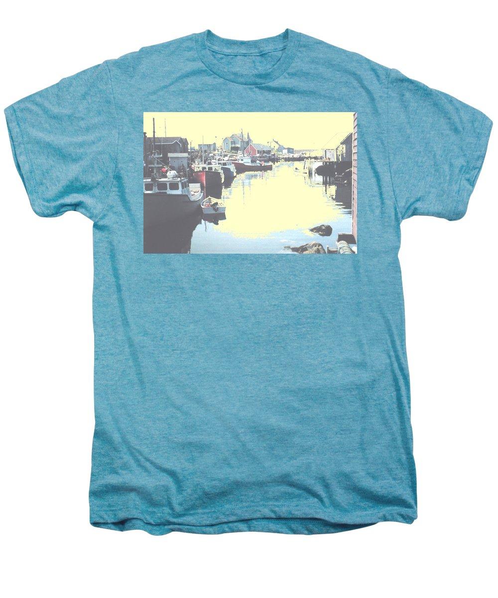 Nova Scotia Men's Premium T-Shirt featuring the photograph Peggy by Ian MacDonald