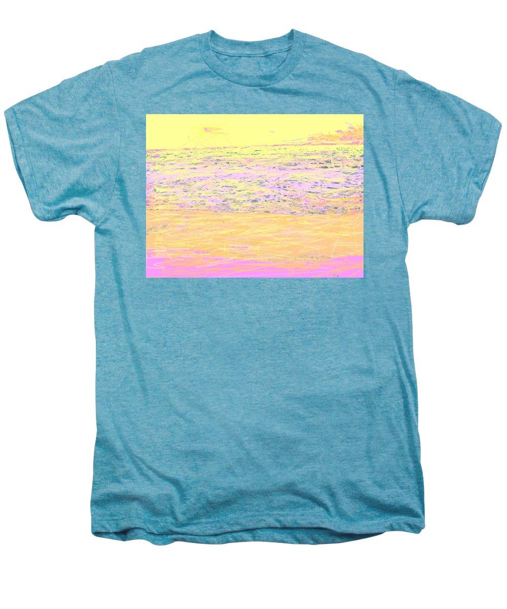 Seascape Men's Premium T-Shirt featuring the photograph Pineapple Sunset by Ian MacDonald