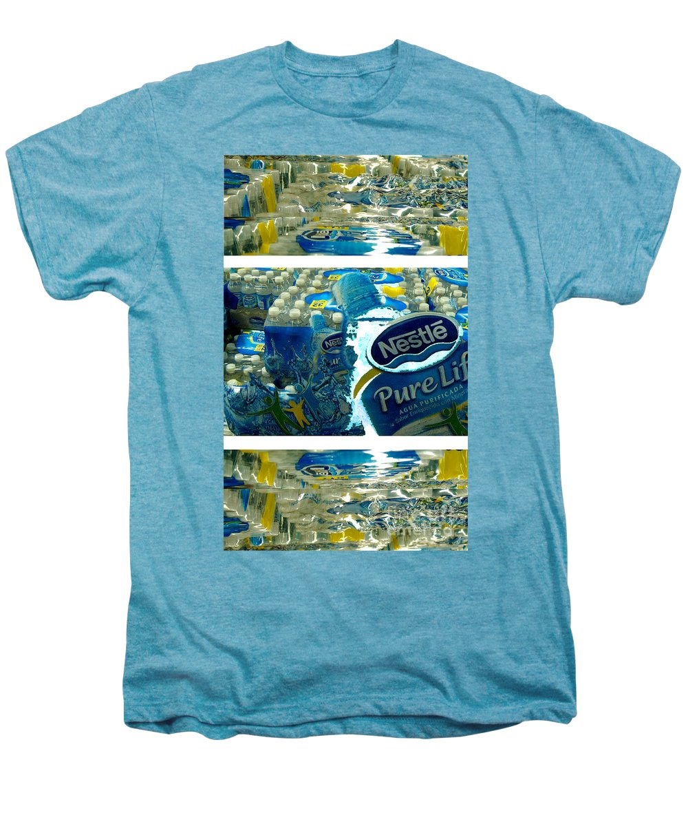 Water Men's Premium T-Shirt featuring the photograph Pure Life by Ze DaLuz
