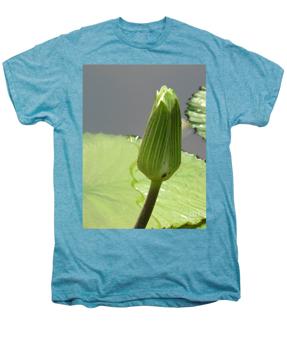 Lilly Men's Premium T-Shirt featuring the photograph Ready To Bloom by Amanda Barcon