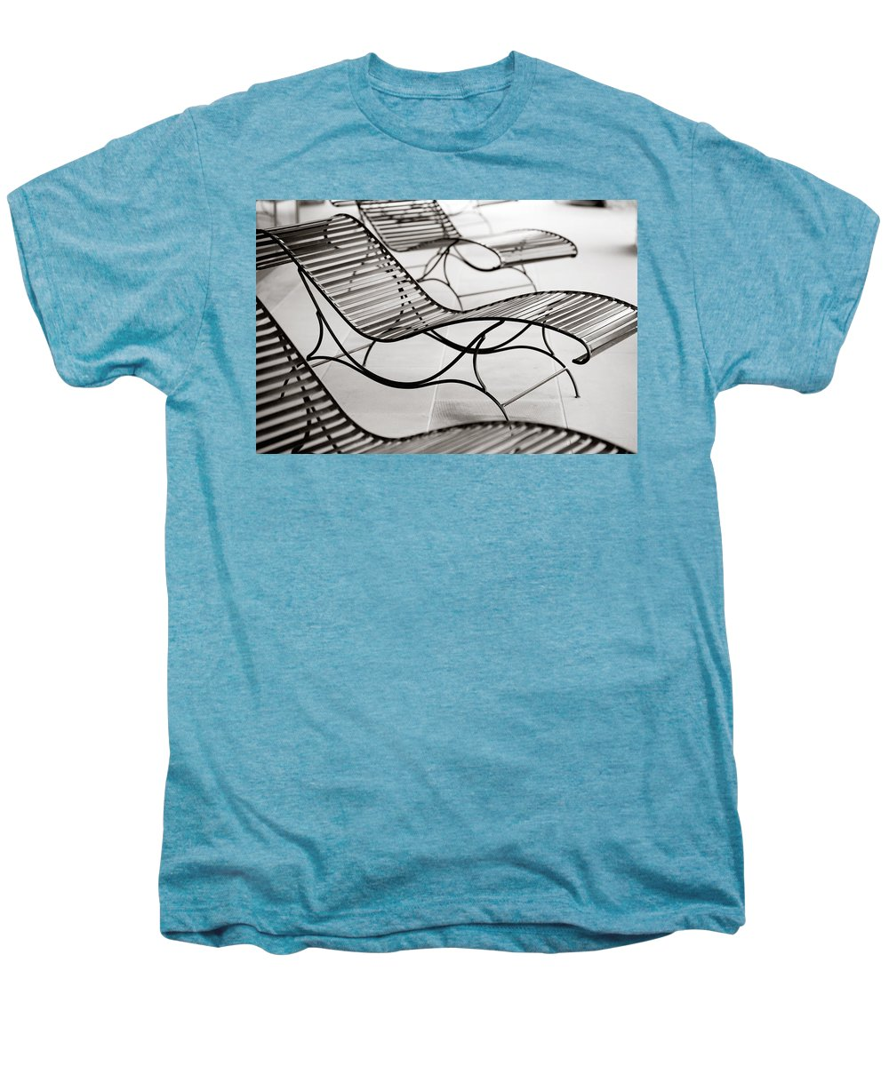 Chair Men's Premium T-Shirt featuring the photograph Relaxation by Marilyn Hunt