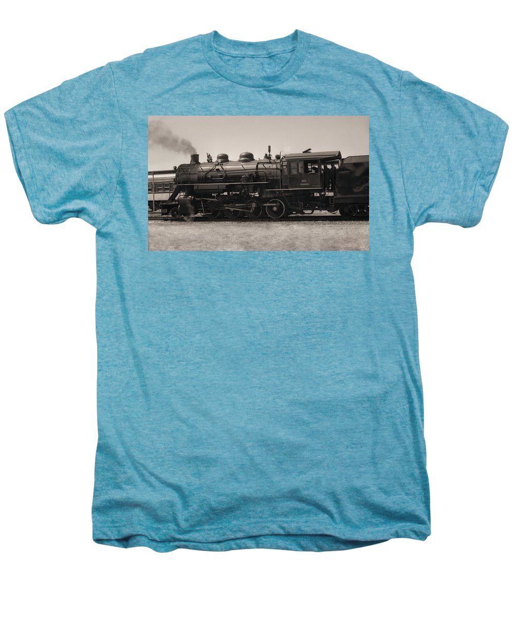 Americana Men's Premium T-Shirt featuring the photograph Reverse Throttle by Richard Rizzo