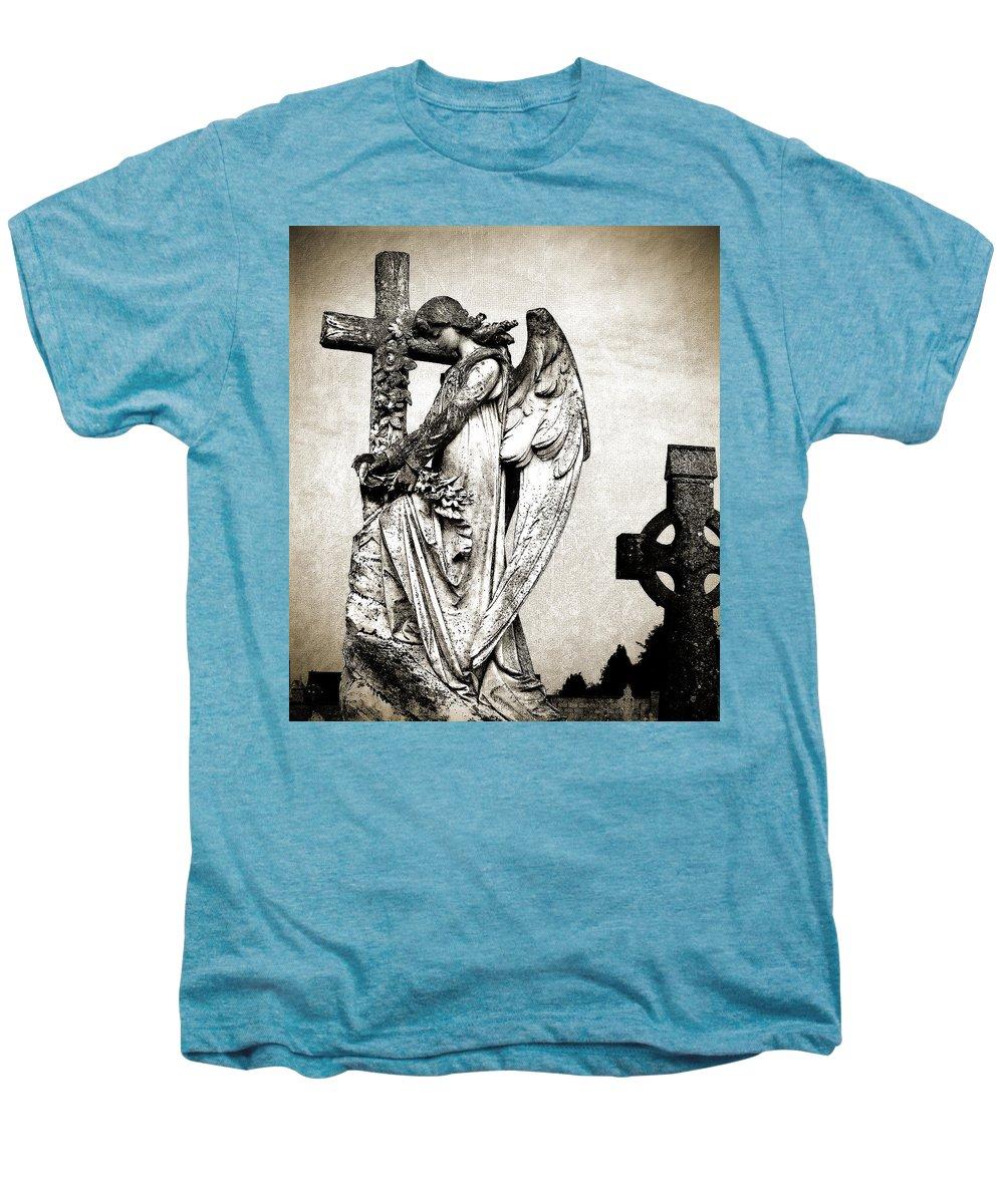 Ireland Men's Premium T-Shirt featuring the photograph Roscommon Angel No 1 by Teresa Mucha