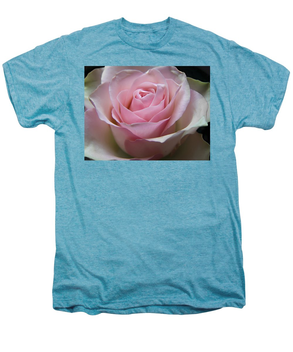 Rose Men's Premium T-Shirt featuring the photograph Rose by Daniel Csoka