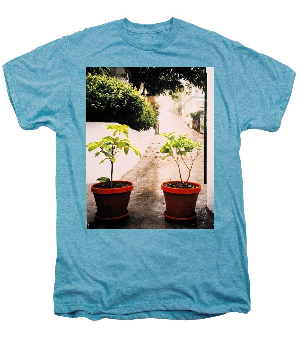 Saba Men's Premium T-Shirt featuring the photograph Saba by Ian MacDonald
