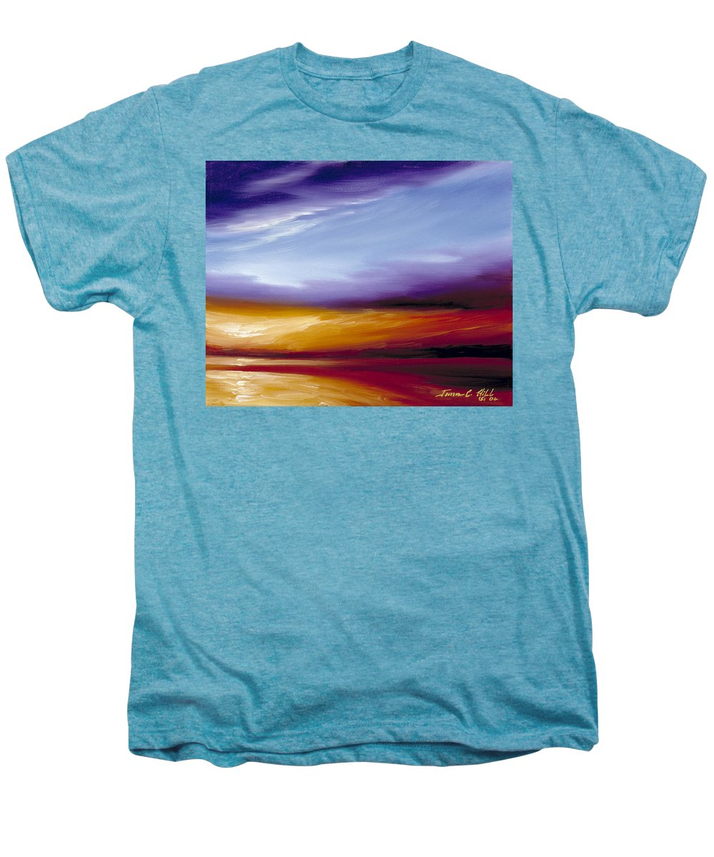 Skyscape Men's Premium T-Shirt featuring the painting Sarasota Bay II by James Christopher Hill