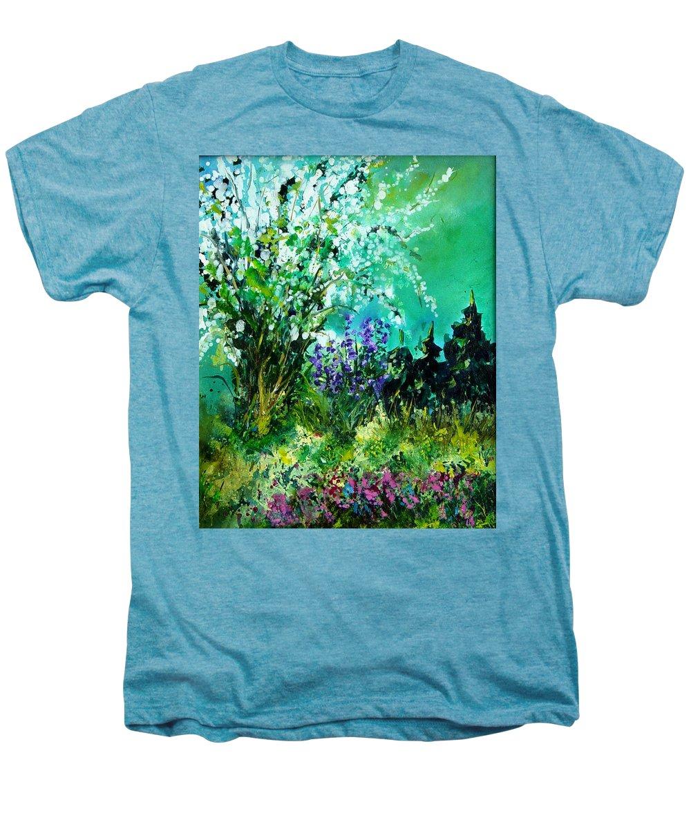 Tree Men's Premium T-Shirt featuring the painting Seringa by Pol Ledent