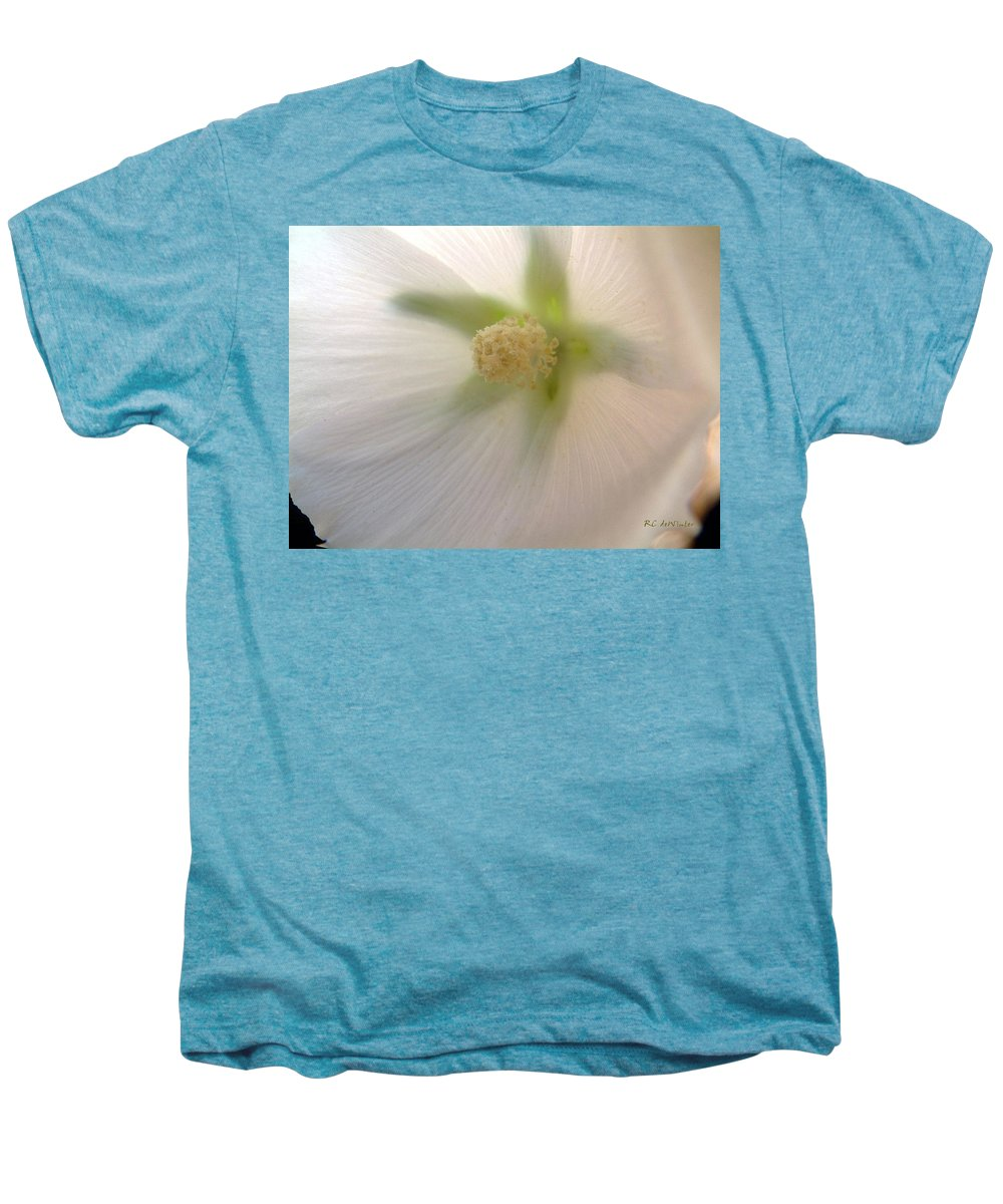 Blossom Men's Premium T-Shirt featuring the photograph Shimmer by RC DeWinter