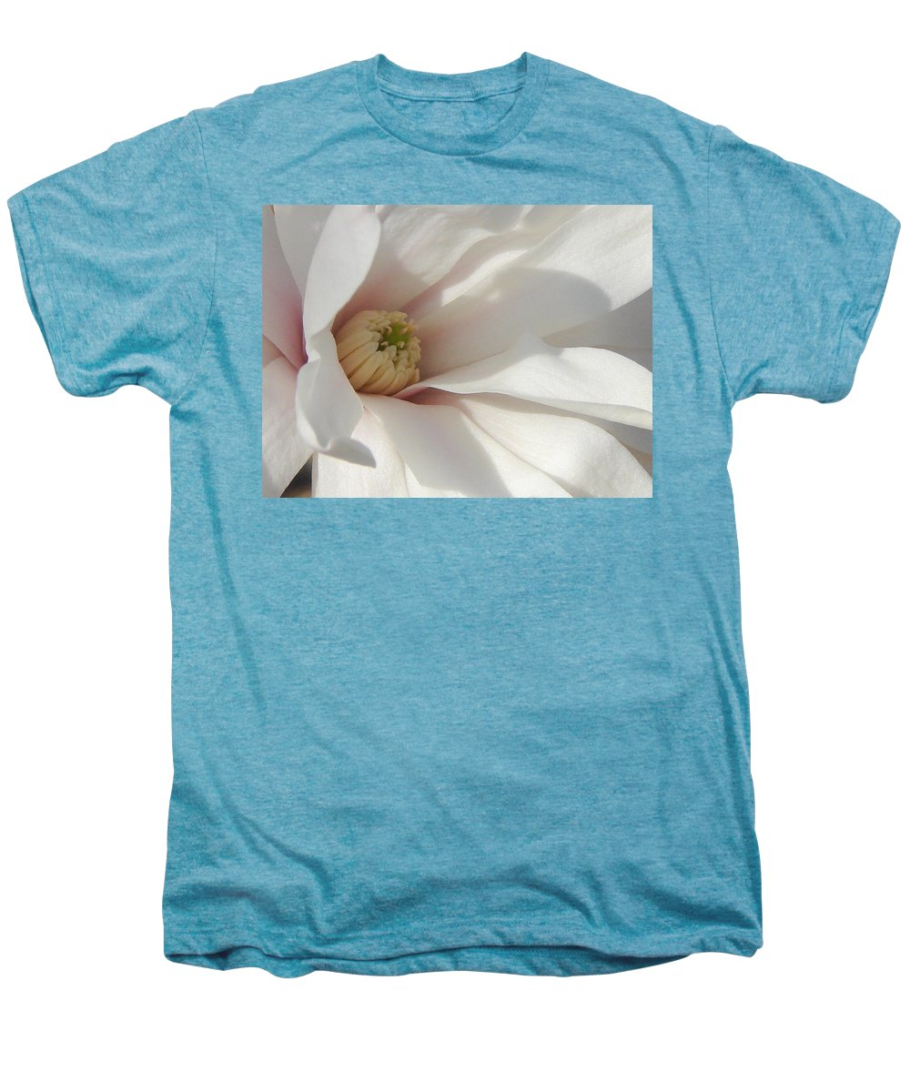 Men's Premium T-Shirt featuring the photograph Simply White by Luciana Seymour