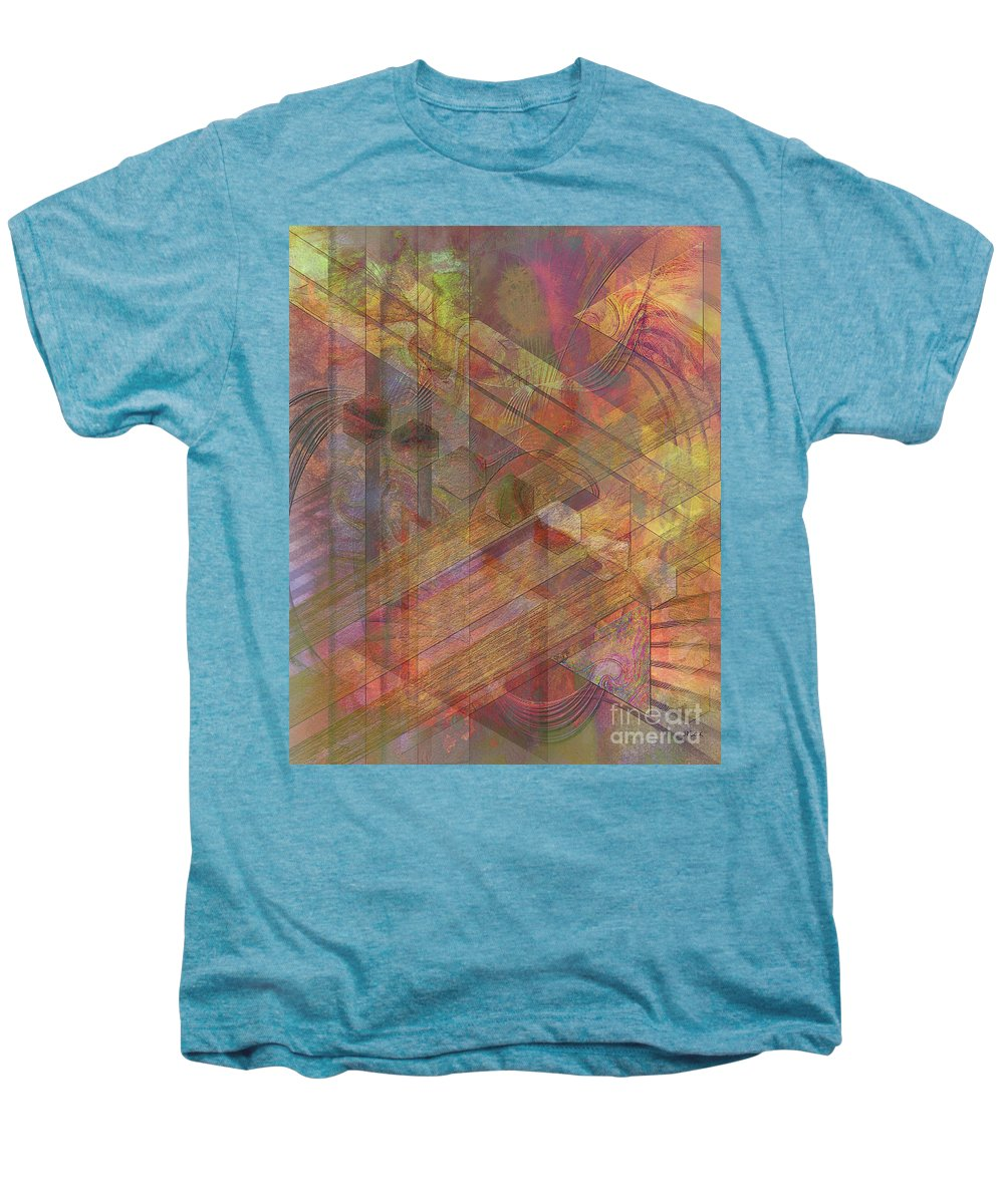 Soft Fantasia Men's Premium T-Shirt featuring the digital art Soft Fantasia by John Beck