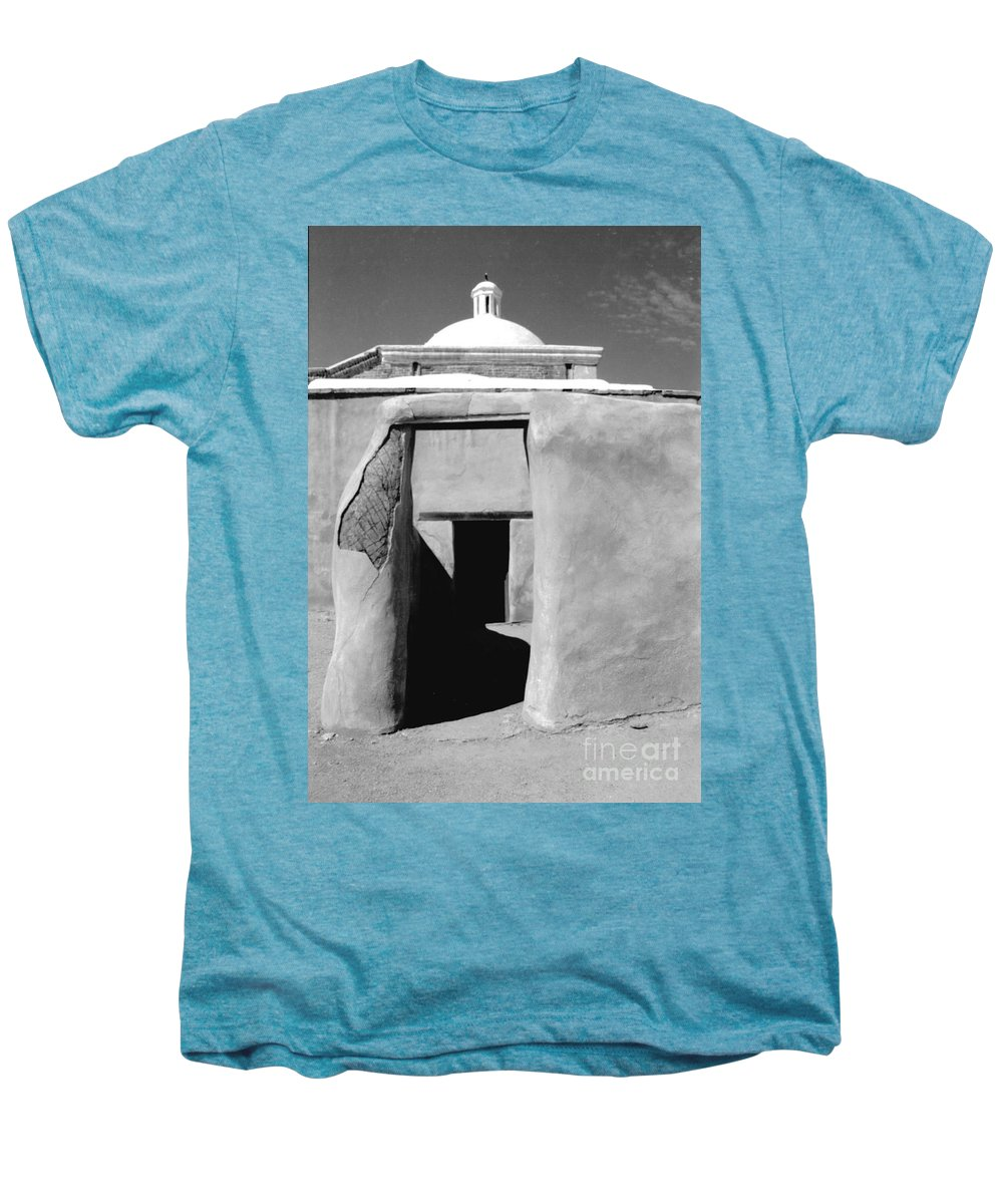 Shadows Men's Premium T-Shirt featuring the photograph Sol Y Sombra by Kathy McClure