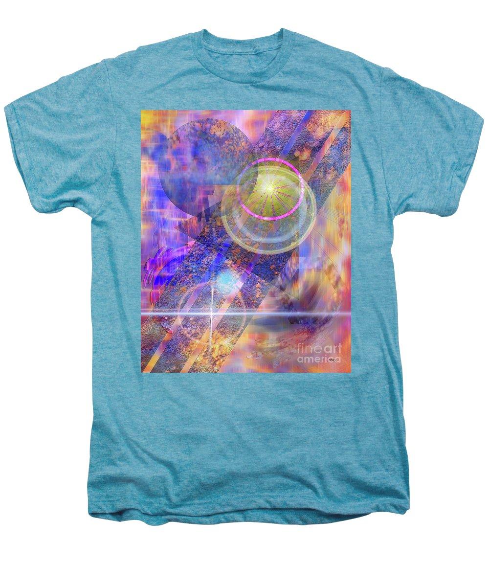 Solar Progression Men's Premium T-Shirt featuring the digital art Solar Progression by John Beck